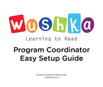Program Coordinator Set Up Guide