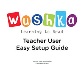 Teacher User Set Up Guide